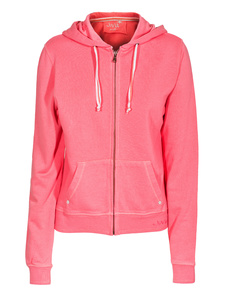 JUVIA Sweat Hood Coral