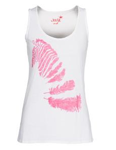 JUVIA Zebra Pink White