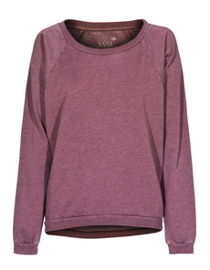 JUVIA Jersey Fleece Raglan Bordeaux