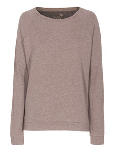JUVIA Raglan Fleece Heather Beige