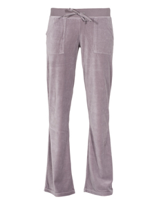 JUVIA Flared Bottom Velour Mauve