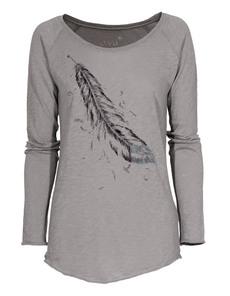 JUVIA Raglan Cotton Feather Grey
