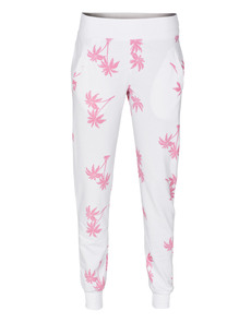 JUVIA Long Palm Pink White