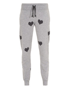 JUVIA Heart Long Grey