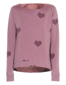 JUVIA Heart Sweat Purple