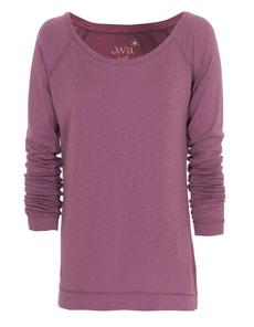 JUVIA Jersey Raglan Purple
