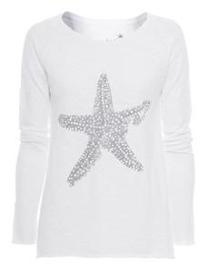 JUVIA Starfish Raglan White