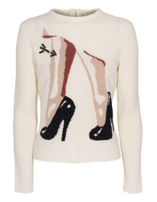 CARVEN Heeled Lady Creme