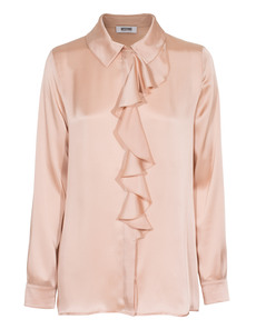 MOSCHINO Cheap and Chic Playful Flounce Nude