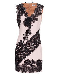 MOSCHINO Cheap and Chic Floral Lace Nude