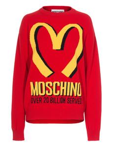 Moschino Iconic M Red