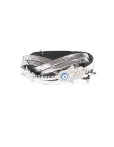 YUTA PASCH Braided Hand Pearl Silver