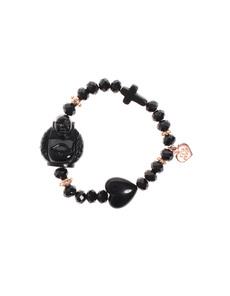 YUTA PASCH Buddha Love Cross Rose Black