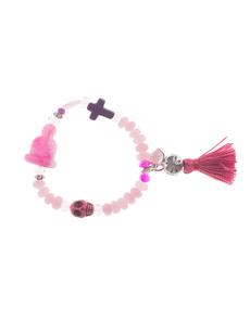YUTA PASCH Buddha Bead Pink