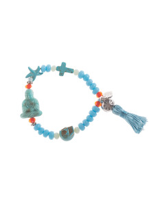 YUTA PASCH Buddha Bead Turquoise