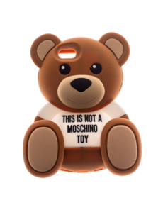 MOSCHINO Sweet Bear 5 Not A Toy Brown