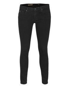AG ADRIANO GOLDSCHMIED  The Remi Ankle Super Skinny Tux black