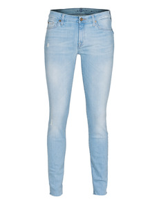 SEVEN FOR ALL MANKIND The Skinny The Second Skin New Blue Baby