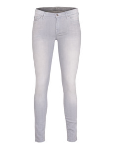 SEVEN FOR ALL MANKIND The Skinny Slim Illusion Grey Rocket