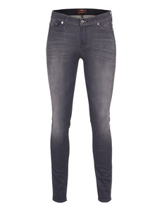 SEVEN FOR ALL MANKIND The Skinny Superior Sateen Black