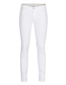SEVEN FOR ALL MANKIND The Skinny The Second Skin White