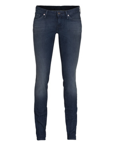 SEVEN FOR ALL MANKIND Olivya The Low Skinny Dark Ink