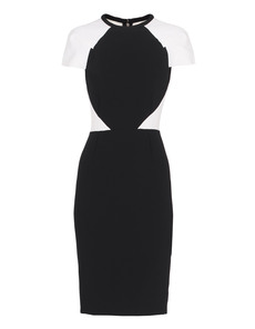 Roland Mouret Timarcha Black And White