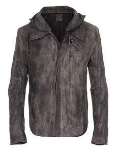 Delusion Riot Leather Grey