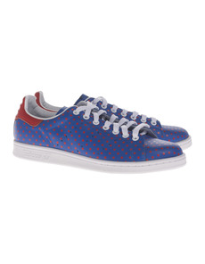 ADIDAS X PHARRELL WILLIAMS Stan Smith Dot Red Blue