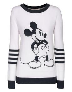Rosa von Schmaus Mickey Stripes White