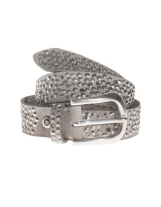 B.Belt Sparkle Stud Grey