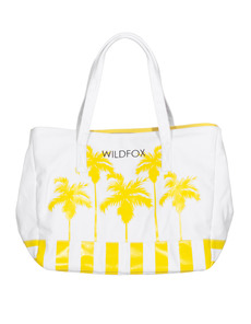 WILDFOX Bel Air Palms Large Yellow