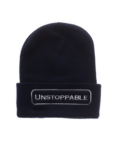 UNSTOPPABLE NYC Beanie Navy White