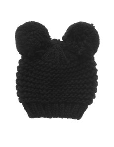 Headless Bear Bobble Black