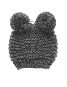 Headless Bear Bobble Grey