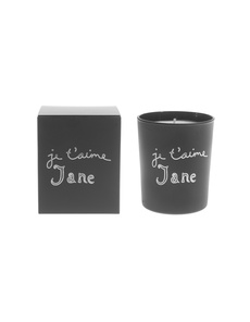 Bella Freud Je T'aime Jane Wax Black
