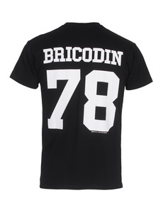 BRIAN LICHTENBERG 78 Bricodin Tee Black White