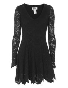 Nightcap Clothing Spanish Lace Black