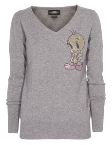 CAMOUFLAGE COUTURE STORK Tweety Angel Grey