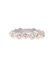Deepa Gurnani Scalloped Skinny Diamond Ivory