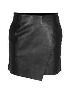 HELMUT LANG Bonded Stilt Leather Black