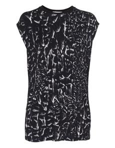 HELMUT LANG Strata Print Jersey Black
