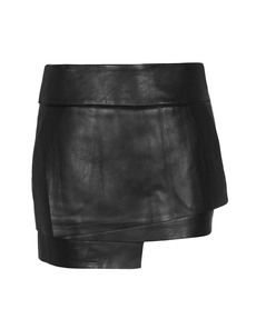 HELMUT LANG Mini Petal Leather Black