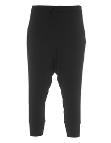 Majestic Filatures  Perfect Jogging Capri Black
