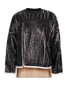 3.1 Phillip Lim Cut Away Teddy Black