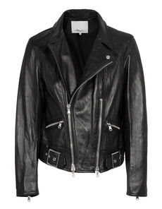 3.1 Phillip Lim Sculpted Motorcycle Black