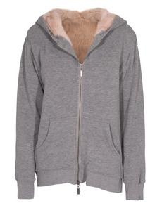 Pam&Gela Fleecy Fur Grey Pink