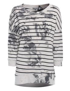 Pam&Gela Batik Stripes Black White