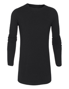 BORIS BIDJAN SABERI Long Knit Black