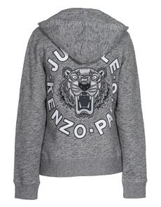 KENZO Unisex Tiger Grey Melange